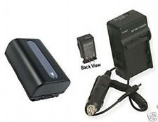 Battery +Charger for Sony NP-FV30 NPFV30 NP-FV40 NPFV40