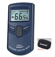 MD918 Digital LCD Wood Timber Inductive Moisture  Meter 4%~80%