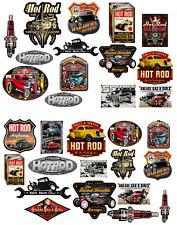 1:18 - 1:24 scale Pre-cut Hot Rod Garage sign Matte stickers/ model car.1