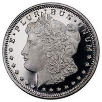 Morgan Dollar Design 1/2 Troy Oz .999 Fine Silver Round NEW MINT