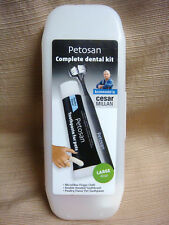 PETOSAN Dog & Cat DENTAL KIT Recommended by Cesar Millan