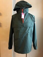 HUNTER FOR TARGET OLIVE GREEN MENS RAIN JACKET S LARGE WEATHER WATER PROOF POUCH