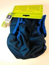 Top Paw Male Dog Washable Cover Up Wrap Diaper Belly Band Large Navy Blue