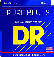 DR Strings PBVW-40 PURE BLUES Bass Guitar Strings - Victor Wooten Signature