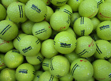 200  gelbe Wilson  Rangebälle Golfbälle  für Crossgolf und zum üben