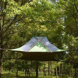 Ultralight Tree Tent Hanging Tree House Camping Waterproof Hammock 220x200cm