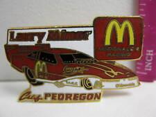 McDONALD'S RACING CAR Larry Minor LAPEL PIN - PEDREGON