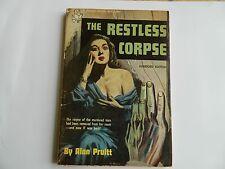 The Restless Corpse by Alan Pruitt, Handi-Book #104, Mystery 1950
