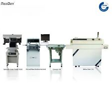 PCB Assembly SMT Line Auto Pick and Place Machine NeoDen4+Printer+Oven+Conveyor