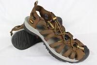 New Keen Women's Whisper Sport Sandals Waterproof 10m Brown Hiking Trail