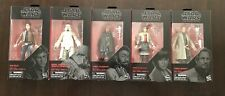 Star Wars The Black Series 6? Solo Action Figures Lot of 5