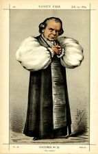 THE BISHOP OF OXFORD SAMUEL WILBERFORCE ENGLISH CHURCH CLERGY VANITY FAIR BY APE