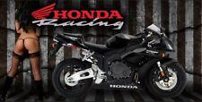 Honda Racing CBR 1000 Motocross Motorcycle Garage Shop Vinyl Banner Sign