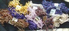 Fibras sintéticas Metálico surtidos de arte creativo Textil