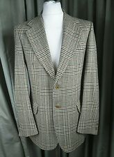 "DAKS Check Sports 100% Wool Hunting Hacking Jacket C40"" EXCELLENT CONDITION"