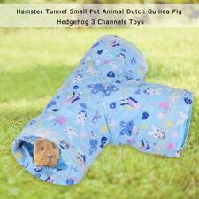 Hamster Tunnel Small Pet Animal Dutch Guinea Pig Hedgehog Exercise 3 Channel Toy