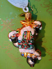 Christopher Radko Three Penny Star Gem Ornament