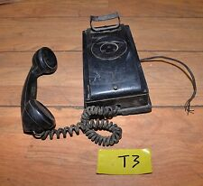 Vintage 1950 Bell Systems Western Electric wall phone collectible telephone T3