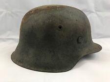 WW2 German M42 Camo Helmet W/ Partial Liner