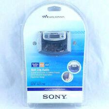 Sony SRF-M37W Walkman Radio Digital Tuning Weather/FM/AM Stereo SRFM37W (Black)