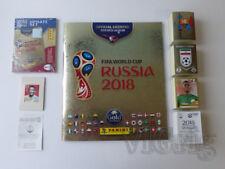 2018 World Cup Russia GOLD EDITION PANINI - empty album + master set stickers