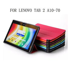 Case Cover For Lenovo Tab 2 A10-70 A10-70F A10-70L A10 70 Tablet Color DARK BLUE