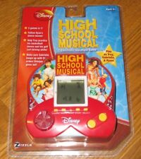 New DISNEY Zizzle HIGH SCHOOL MUSICAL 5-in-1 Handheld ELECTRONIC GAME Age 5+