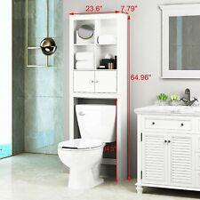 Spirich Home Bathroom Shelf Over The Toilet, Bathroom Cabinet Organizer Over Toi