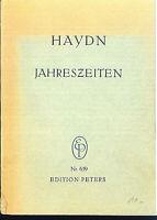 Haydn : Jahreszeiten ~ Studienpartitur
