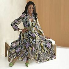 size 14 Marlane Dress & green belt by Ashro new