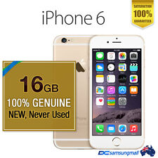 Apple 100% NEW Genuine iPhone 6 16GB Gold Unlocked Smartphone * phone only