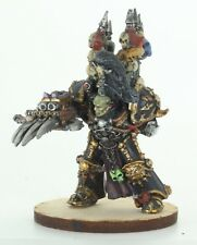 Warhammer 40K Abaddon the Despoiler Warmaster of Chaos Lord Metal Miniature