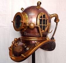 """18"""" Antique Scuba Divers Diving Helmet U.S Navy Mark V Deep Sea Marine Divers"""
