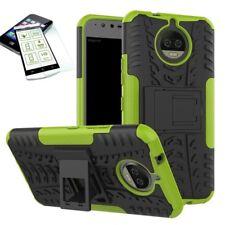 HYBRID COQUE PROTECTRICE extérieur 2 pièces Vert pour Motorola Moto G5S PLUS +