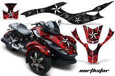 AMR Racing Can Am BRP RS Spyder Graphic Kit Wrap Roadster Sticker Decal NORTHSTR