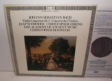 DSLO 702 JS Bach Violin Concertos Jaap Schroder Christopher Hirons  AAM Hogwood