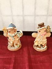 COLLECTIBLE FOREVER BEAUTIFUL GINGERBREAD MEN