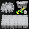 50/100pcs Plastic Sample Bottle Test Tube Small Bottles Vials Storage Containers