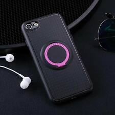 For iPhone X 8 6s 7 5 Phone TPU Case Cover Luxury Magnetic Kickstand Ring Holder