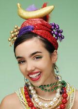 Carmen Miranda Glitter Showgirl Fruit Hat
