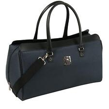 """ANNE KLEIN 20"""" OSLO CARRY ALL CARRY-ON SATCHEL BAG NAVY LARGE ONE SIZE NEW!"""