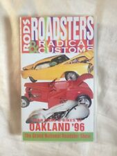 Rods, Roadsters And Radical Customs (VHS, 1996)