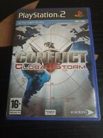Conflict Global Storm Playstation PS2 Action Video Game Manual PAL