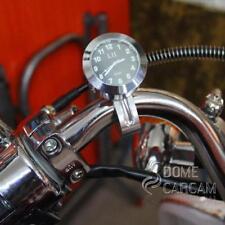 Universal Motorcycle Handlebar Mount Clock Watch Waterproof For Harley Davidson