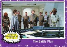 2017 Journey to Star Wars The Last Jedi Walmart Purple Parallel card #35 NM