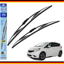 NISSAN NOTE 2013-ON windscreen wiper blades alca SPECIAL SET OF 2