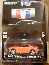 Green Light Hobby Exclusive Camaro 2016 Chevrolet Camaro SS Red Combine Shipping