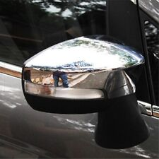 Chrome Car Rear View Wing Mirrors Covers Accessories For Ford EcoSport 2013-2015