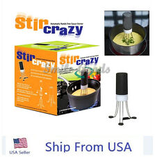 NEW Automatic Hands Free Robo Kitchen Utensil Food Sauce Auto Stirrer Stir Crazy