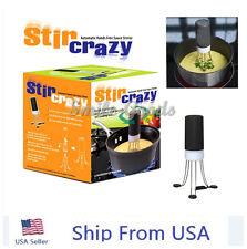 Automatic Hands Free Robo Kitchen Utensil Food Sauce Auto Stirrer STIR CRAZY US